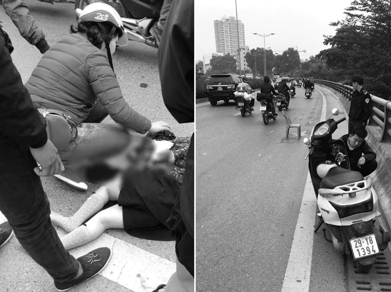 tai nạn giao thông, tai nạn em bé 5 tuổi
