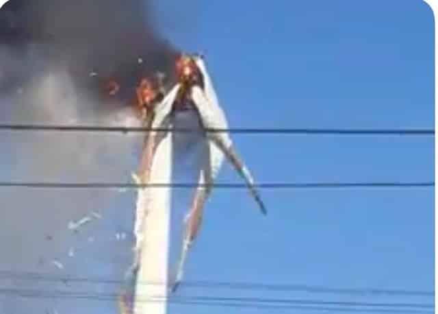 tuabin phát nổ, nhà máy phong điện Bình Thạnh