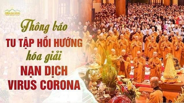 chùa Ba Vàng, Quảng Ninh, Thích Trúc Thái Minh, virus corona