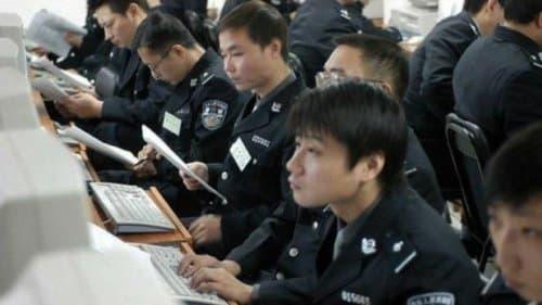 Viêm phổi Vũ Hán, cảnh sát kiểm soát mạng xã hội Trung Quốc