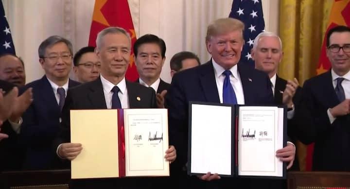Trump, Lưu Hạc
