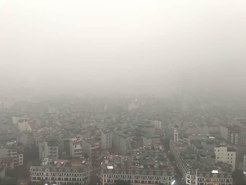 ô nhiễm không khí, Đại học Kinh tế Quốc dân