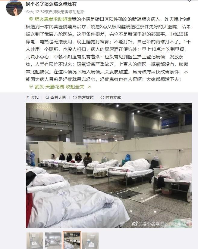 Viêm phổi Vũ Hán, virus corona, bệnh viện container