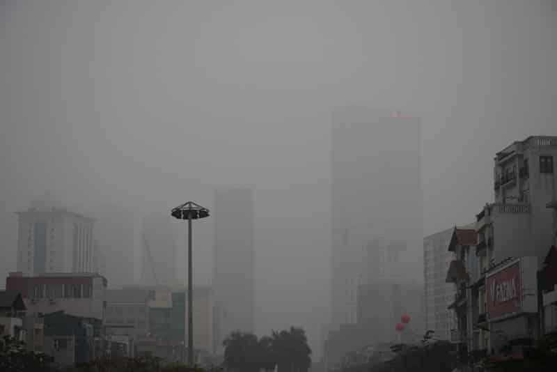 chất lượng không khí, ô nhiễm không khí