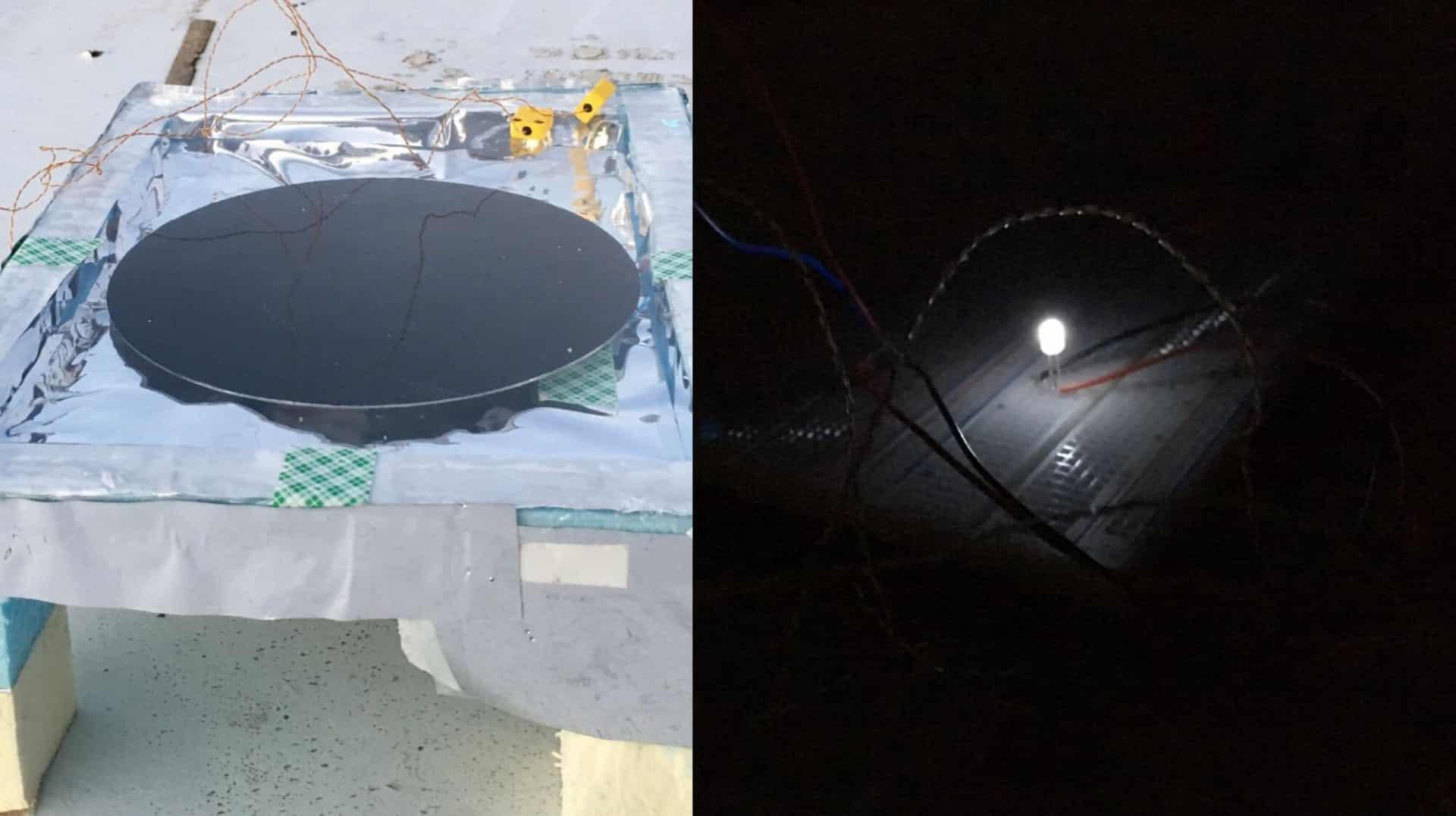 Thiết bị tạo ra điện từ… màn đêm lạnh lẽo