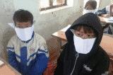 Sở GD&ĐT Nghệ An, học sinh đeo khẩu trang giấy