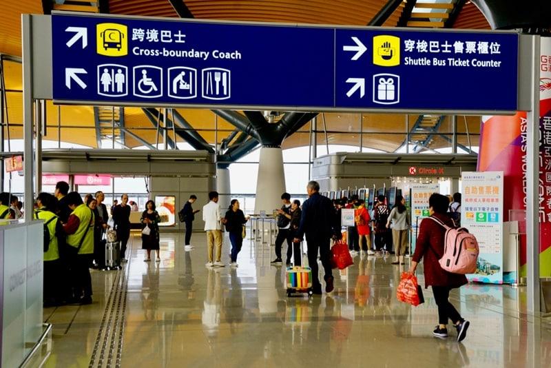 khôi phục đường bay, sân bay hồng kong