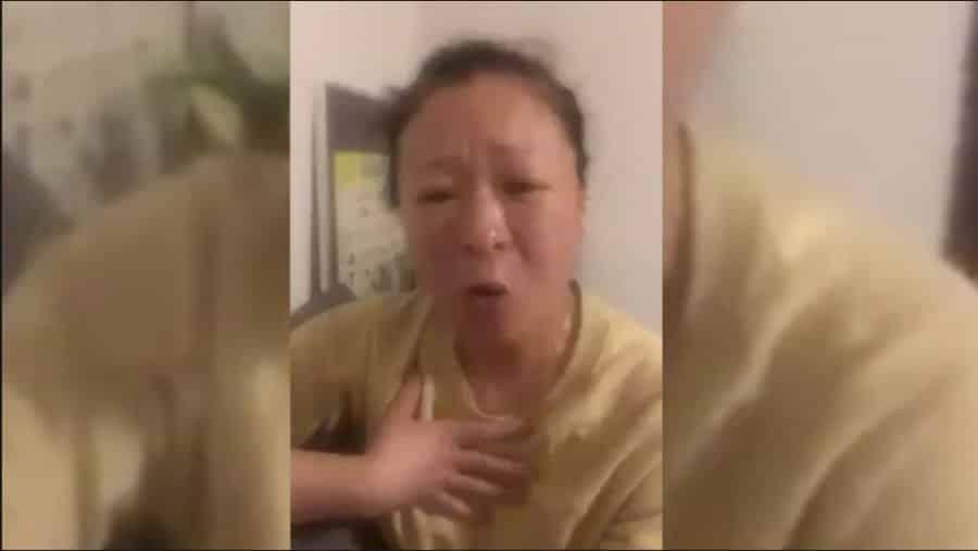 Người phụ nữ Vũ Hán chỉ trích CCTV toàn đưa tin tức giả dối