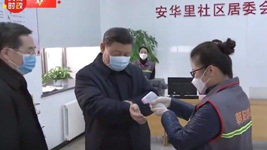Theo truyền thông ĐCSTQ đưa tin, chiều ngày 10/2, ông Tập Cận Bình lộ diện tại Bắc Kinh