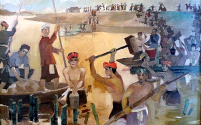 Những người lấy thân nhử quân Nam Hán vào trận địa cọc trên sông Bạch Đằng