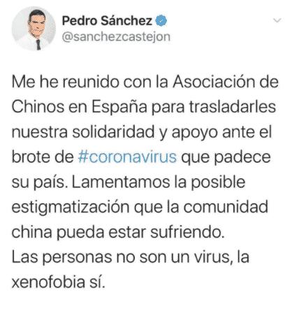 Thủ tướng Pedro Sánchez