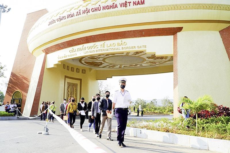 BOT Quảng Trị, công dân cách ly, cửa khẩu Lao Bảo