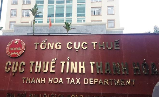 Cục thuế Thanh Hóa , ông Nguyễn Ngọc Đính