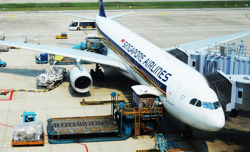 máy bay Singapore Airlines