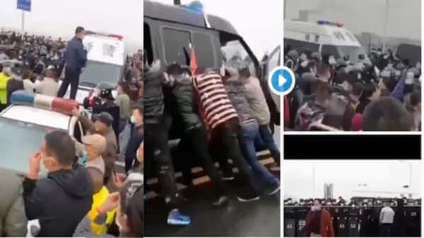Cảnh sát Cửu Giang tỉnh Giang Tây và cảnh sát trấn Tiểu Trì tỉnh Hồ Bắc xảy ra xung đột nghiêm trọng do vấn đề khôi phục làm việc. Trong khi đó, tại khu giao giới giữa thành phố Hoàng Cương và Cửu Giang, người dân Hồ Bắc muốn vào Cửu Giang nhưng đã bị cảnh sát chặn lại, hơn 1000 người dân tập trung kháng nghị và xảy ra xung đột với cảnh sát