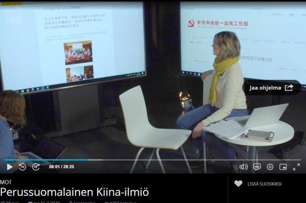 Đài phát thanh công của Phần Lan điều tra về sự thâm nhập của ĐCSTQ