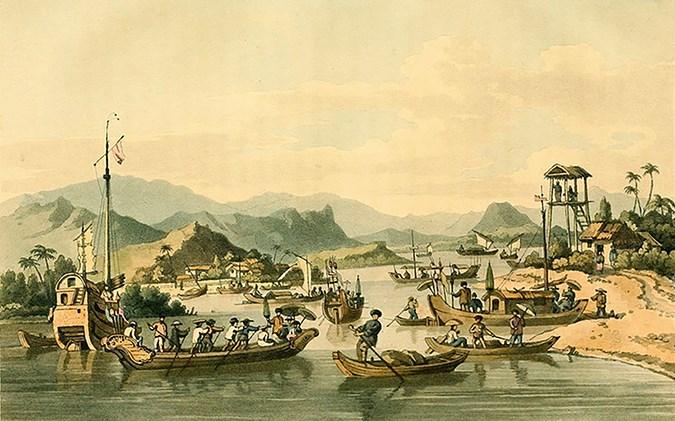 tài liệu về giao thương với Việt Nam trong thời Nguyễn