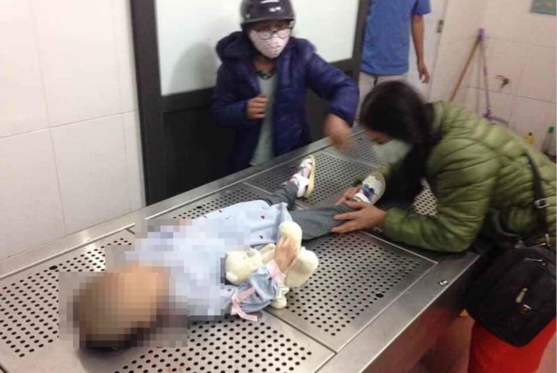 cháu bé 3 tuổi tử vong nghi do bạo hành