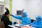 Một người đàn ông đang được kiểm tra virus corona tại Tehran (Iran) ngày 3/3/ 2020. (Ảnh: Amir Mardani/Shutterstock)