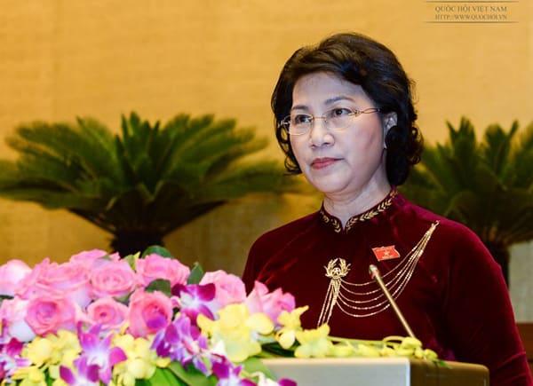 Chủ tịch Quốc hội Nguyễn Thị Kim Ngân, Bộ Thanh niên và Thể thao
