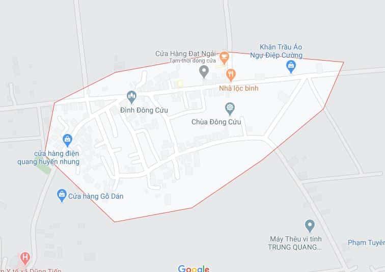 thôn Đông Cứu, virus corona
