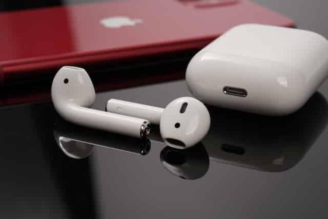 Hình ảnh tai nghe không dây AirPods của Apple