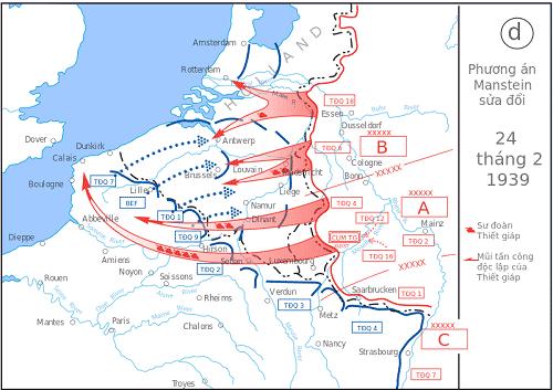 """""""Kế hoạch vàng"""" giúp Đức đánh chiếm Pháp chỉ trong 6 tuần (P1)"""