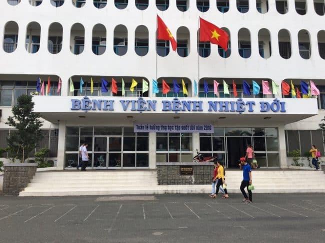 bệnh nhân 278, Bệnh viện Bệnh Nhiệt đới TP.HCM
