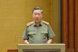Bộ trưởng Công an trình Quốc hội việc bỏ sổ hộ khẩu