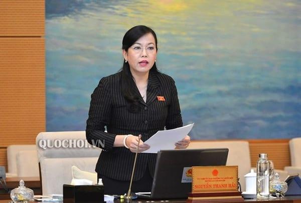 bà Nguyễn Thanh Hải, Bí thư Thái Nguyên