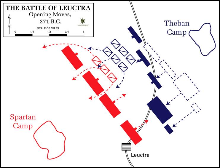 Triết gia Epaminondas và đội hình Phalanx biến hóa đánh bại quân Sparta