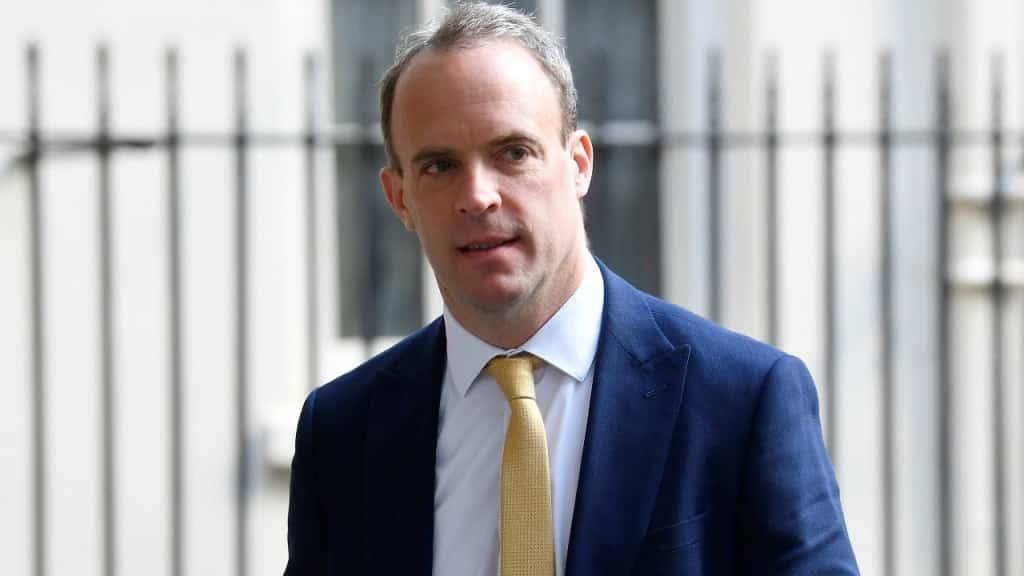 Ngoại trưởng Anh Quốc Dominic Raab.