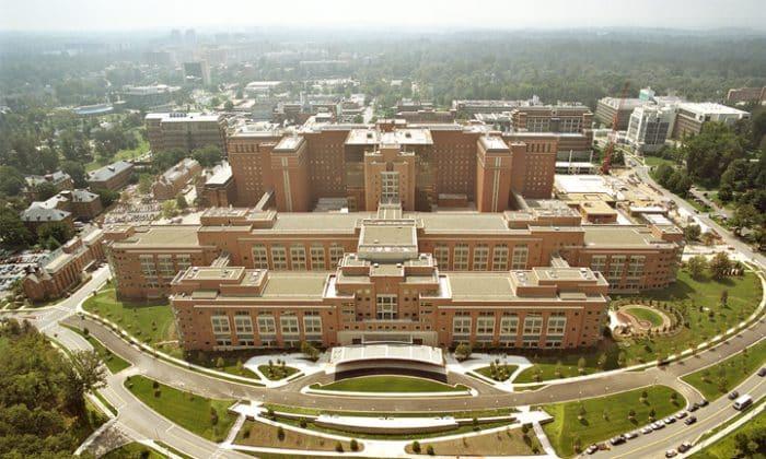 Hình ảnh về Viện Y tế Quốc gia Mỹ.