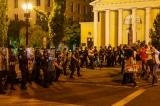 đấu tranh xã hội, Nhiều người biểu tình tập trung trước Nhà Trắng ở Washington DC