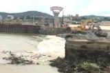Đập Bara Đô Lương bị vỡ, Nghệ An
