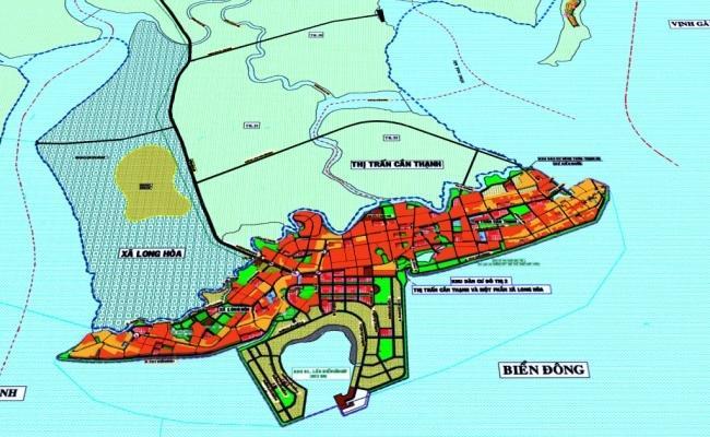 khu đô thị lấn biển Cần Giờ, Cần Giờ, TP.HCM