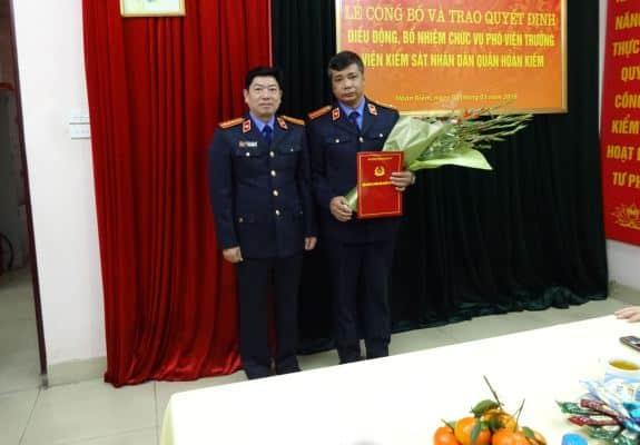 đình chỉ Phó viện trưởng Viện KSND quận Hoàn Kiếm, Hà Nội