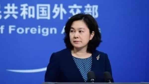 Người phát ngôn Bộ Ngoại giao Trung Quốc Hoa Xuân Oánh (Ảnh từ trang web của Bộ ngoại giao Trung Quốc)