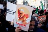 Đám tang Tướng Qassem Soleimani tại thủ đô Tehran, Iran hôm 7/1/2020.
