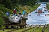 Kênh đào Elblag, nơi các con thuyền được chuyên chở bằng… xe ròng rọc