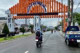 cổng chào TP. Long Xuyên, An Giang