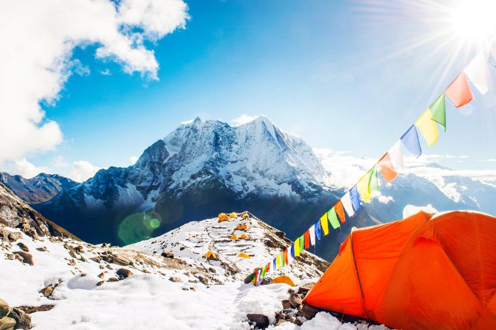 chinh phục đỉnh Everest