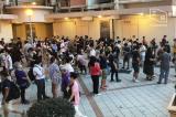 Người dân xếp hàng tham gia bỏ phiếu trong cuộc bầu cử sơ bỏ của các đảng ủng hộ dân chủ hôm 11/7.