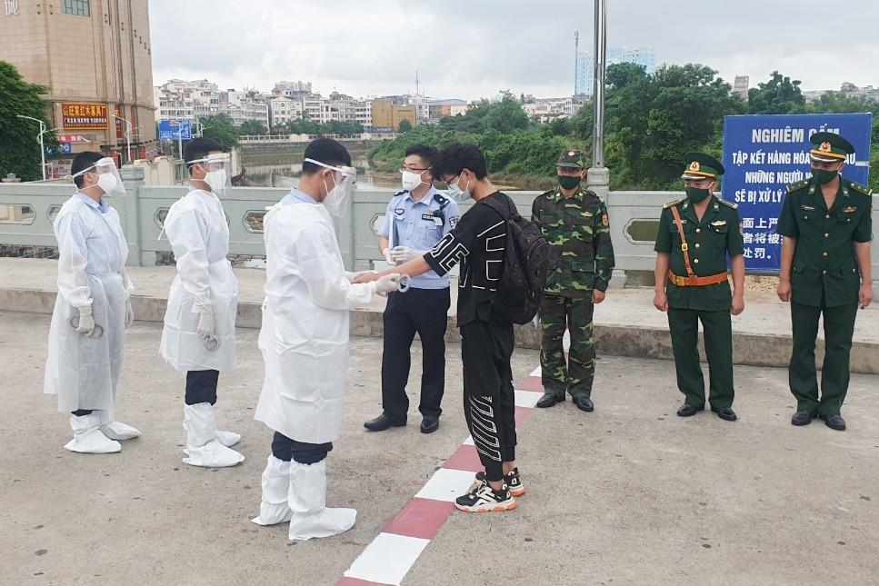 Việt Nam, Trung Quốc, nhập cảnh trái phép