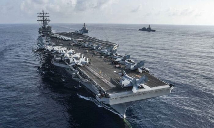 Hàng không mẫu hạm USS Ronald Reagan.