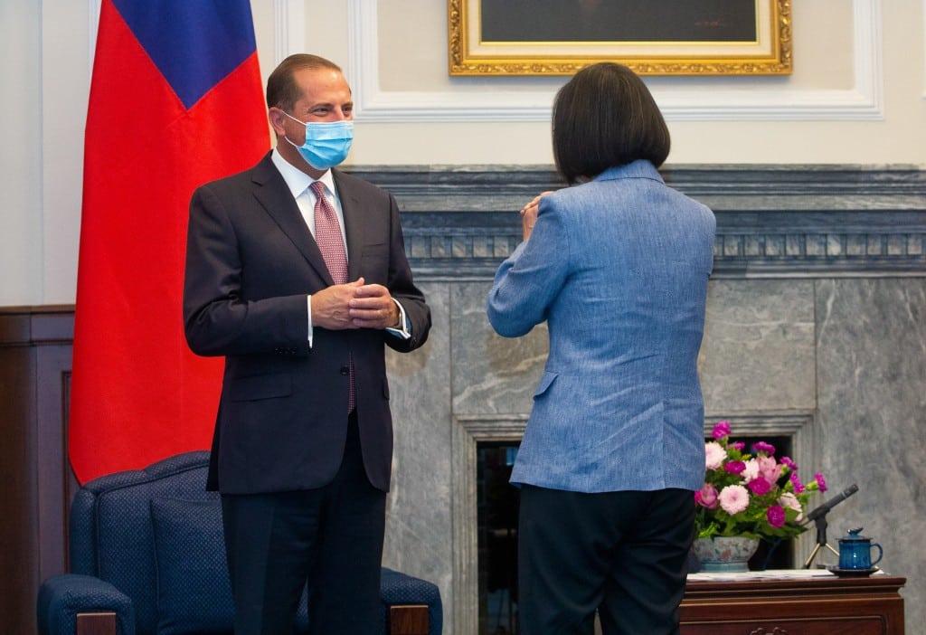 Đài Loan Thái Anh Văn vào sáng 10/8.