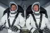 Cuộc trở về lịch sử của phi hành gia NASA trên con tàu Crew Dragon
