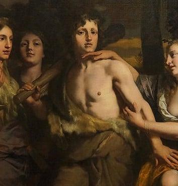 Người anh hùng Hercules và câu chuyện dụ ngôn về Đức hạnh và Lạc thú