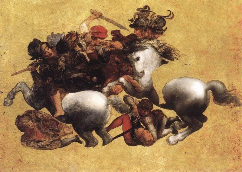 Một cuộc so tài bất thành giữa Michelangelo và Leonardo da Vinci