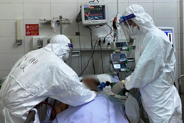 bệnh nhân 577, Bộ Y tế Việt Nam